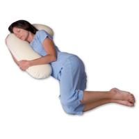 Body Pillow - Snoozerpedic Snuggle Buddy - CoolBreath Memory Foam SPMD3000 - Ivory